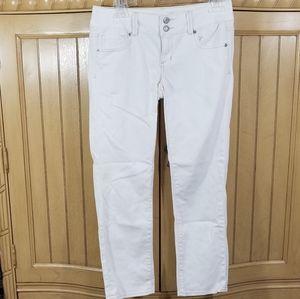 American Eagle Artist White Stretch Jeans, sz 2